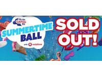 Capital fm Summertime Ball Gold Circle tickets X2 £280