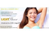 Laser Hair Removal in Bristol - Special offer !