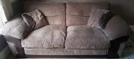 DFS 3 Three Seat Sofa in Excellent Condition