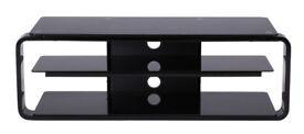 Alphason Black TV Stand ADL1150-BLK