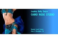 New BELLY DANCE COURSE from 3 November 2016