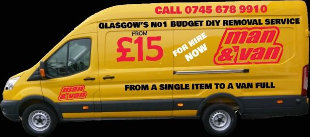Man With A Van >> Man And Van From 15 Glasgow S Best Man And Van Service Call Now