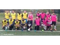 Play 8 a side football in Leyton today. 7pm and 8:30pm KO