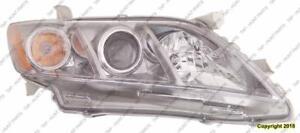 Head Lamp Passenger Side Se Usa Built Toyota Camry 2007-2009