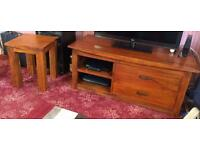 Oaf furniture land tv cabinet and side table
