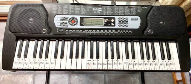 RockJam 54-Key Portable Digital Piano Keyboard with Music Stand and  Interactive LCD Screen - Silver | in Northampton, Northamptonshire | Gumtree