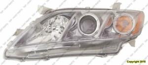 Head Light Driver Side Se Usa Built Toyota Camry 2007-2009