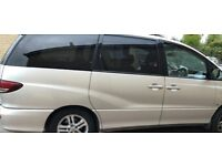 Toyota Previa Diesel MPV 7 seater with wheel chair ramp access alloys air conditioning 2 keys