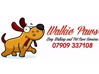 Dog walking & pet care services
