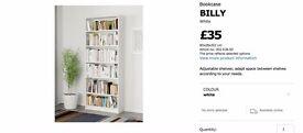 Ikea White Bookshelf