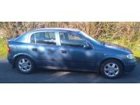 1999 VAUXHALL ASTRA CLUB 1.6 - GOOD CONDITION AND MOT