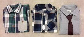 Three shirts longsleeve - boys 6-7 years
