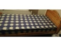 Single Wooden Bed £45 x2
