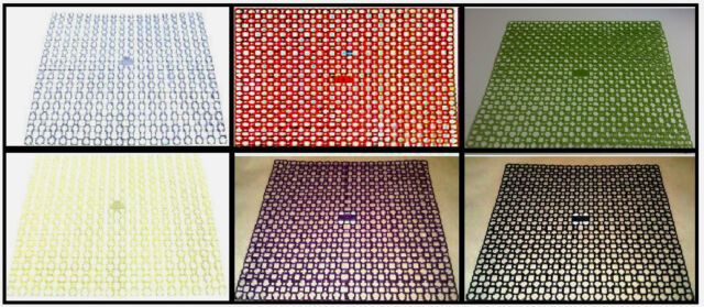 Plastic Draining Mat Sink Drainer Mat Available In Several Colours 39 x 35cm