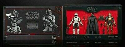 Star Wars New Order (Disneyland Star Wars Galaxy's Edge Black Series The First Order 4 Pack 6