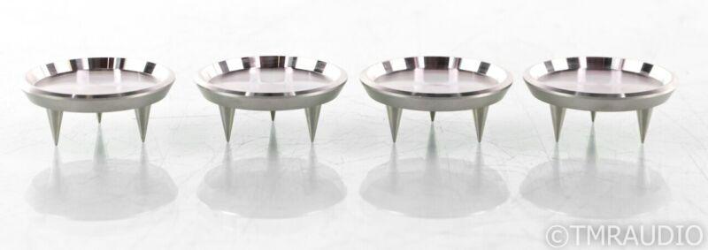 IsoAcoustics Gaia I Carpet Disks; Isolation Spikes Platform; Set of 4