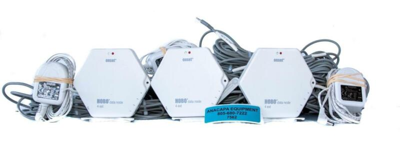 Onset ZW-006 HOBO 4-Channel 4 Analog Port Data Node TMC20-HD LOT of 3 (7562) W
