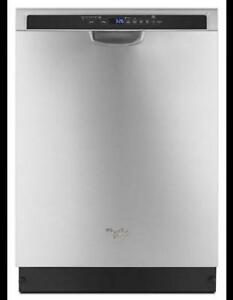 Whirlpool 24 Inch Built-In Stainless Steel Dishwasher WDF560SAFM(BD-1008)