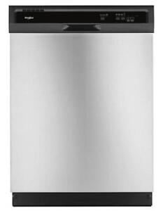 Whirlpool® WDF330PAHS Heavy-Duty Dishwasher with 1-Hour Wash Cycle-Brand New(MP_218)