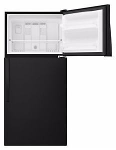 18 cubic foot top mount refrigerator