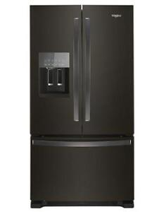 Whirlpool Black Fridge WRF555SDHV  (WL639)