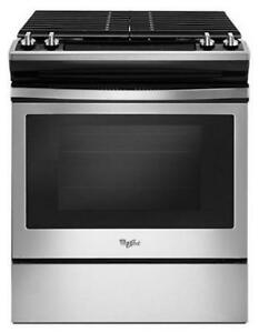 Whirlpool® WEG515S0FS 5.0 cu. ft. Front Control Gas Range with cast-iron grates-Brand New(MP_202)