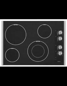 MAYTAG MEC7430BS 30-INCH ELECTRIC COOKTOP  (BD-2051)