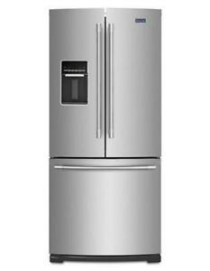 Maytag 30 inch fridge with water dispenser MFW2055FRZ (MAY609)
