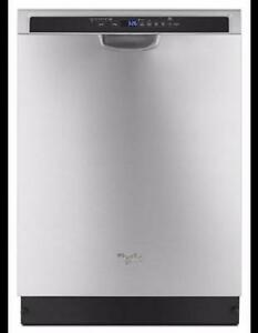 Whirlpool Stainless Steel Dishwasher WDF560SAFM (BF-182)
