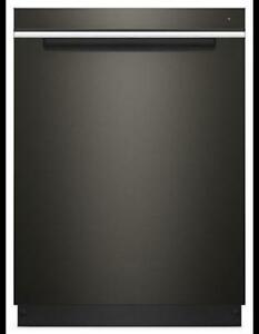 "Black Stainless 24"" Built-In Dishwasher