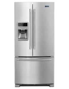 MAYTAG®  FRENCH DOOR REFRIGERATOR 33- INCH WIDE MFI2269FRZ(MP_114)