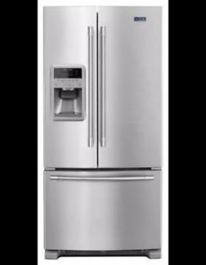 MAYTAG MFI2269FRZ, 33 INCHES FRENCH DOOR REFRIGERATOR ON SALE (BF-190)