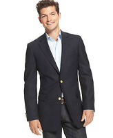 Suit Sport Jackets-Brand New Navy Blue Size 44 Tall