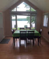 Pigeon Lake Cottage - someone to clean in-between guest