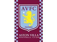 Aston Villa Tickets.