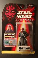 Unopened Darth Maul Action Figure (Mint On Card)