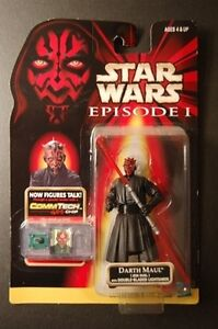 Star Wars Action Figure Darth Maul Action Figure (Mint On Card)