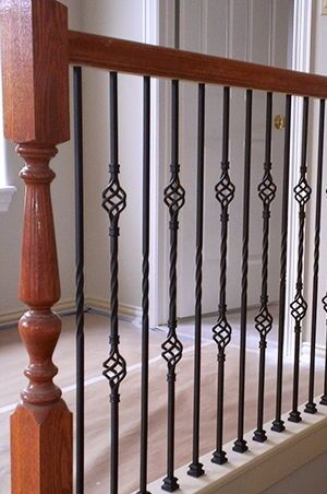 How To Install Wrought Iron Stair Spindles | EBay