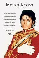 Michael Jackson Know You Are Loved Poster