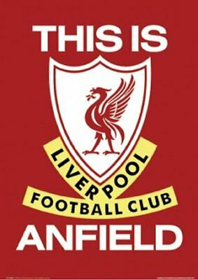New This is Anfield Liverpool Football Club badge -