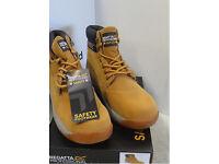 1 x Pair Regatta Professional Safety Telford Honey Boot Size 9 brand new