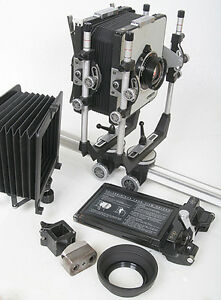 Super Cambo 4x5 View Camera Complete System