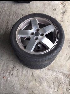 205/45/R16 Tires and Rims $30