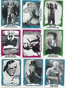 MINT - 44 X 1980 CREATURE FEATURE - YOU'LL DIE LAUGHING CARDS