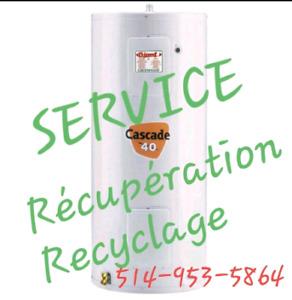 Récupération  / Métaux / Recyclage  Gratuit