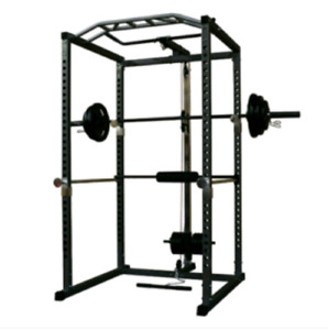 Amstaff SQUAT RACK with LAT PULLDOWN