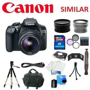 NEW CANON REBEL T6 CAMERA BUNDLE 194117451 DIGITAL CAMERA EOS