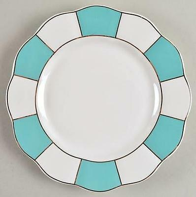 Купить NEW CYNTHIA ROWLEY BLUE/WHITE PORCELAIN SALAD PLATES SET OF 4
