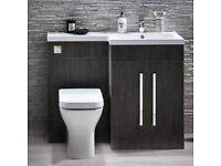 Bathroom Basin & WC Vanity Run £449