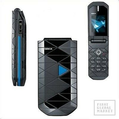Original Nokia 7070 Prism Flip Phone Antique Retro Keypad Phone Blue, used for sale  SRINAGAR